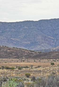 Flinders Ranges north of Hawker