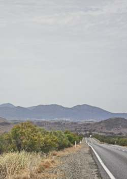 Looking North into the Flinders. The photo is taken just south of Hawker. 2014