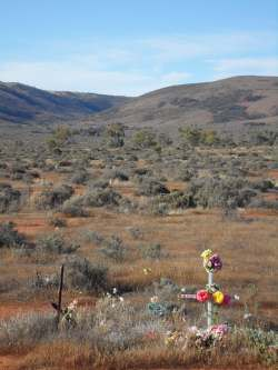 Roadside Grave Flinders Ranges